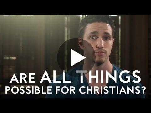 Are All Things Possible For Christians? - Troy Black (Christian Videos)