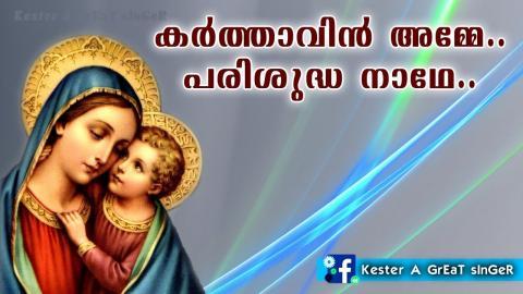 അമ്മയെന്ന രണ്ടക്ഷരത്തിന് | Mothermary Song | Malayalam Christian Devotional Song