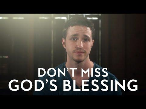 Don't Miss God's Blessing - Troy Black (Christian Vlog)